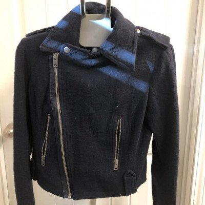 Navy Blue Jacket picture 1
