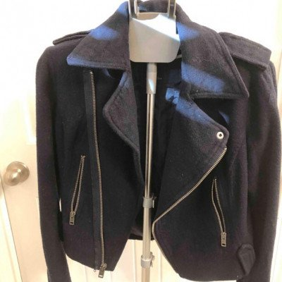 Navy Blue Jacket picture 2
