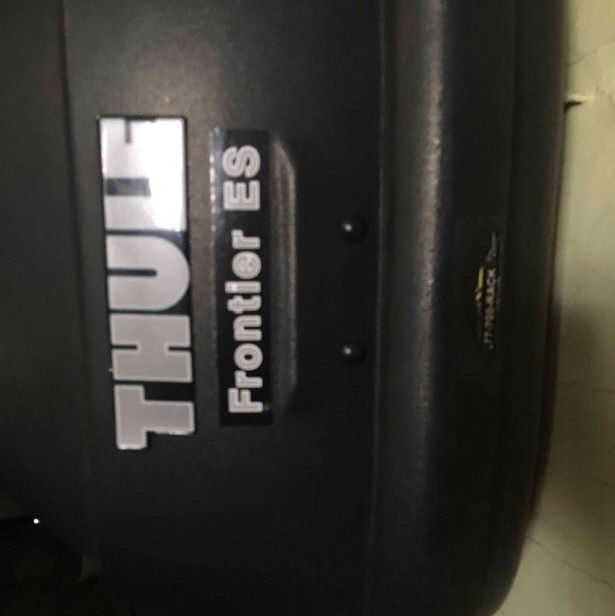 Thule roof top cargo box