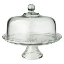 Pedestal Cake Stand - Plain Glass