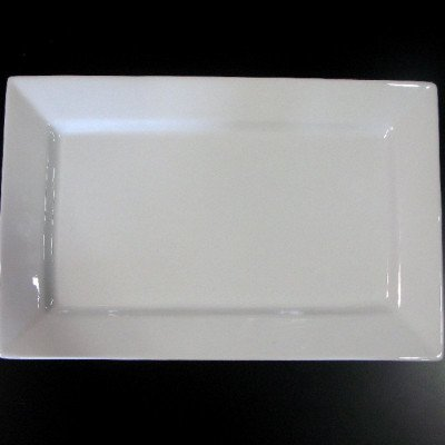 """White Platter - 28"""" x 16"""" picture 1"""