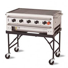 3ft collapsable bbq