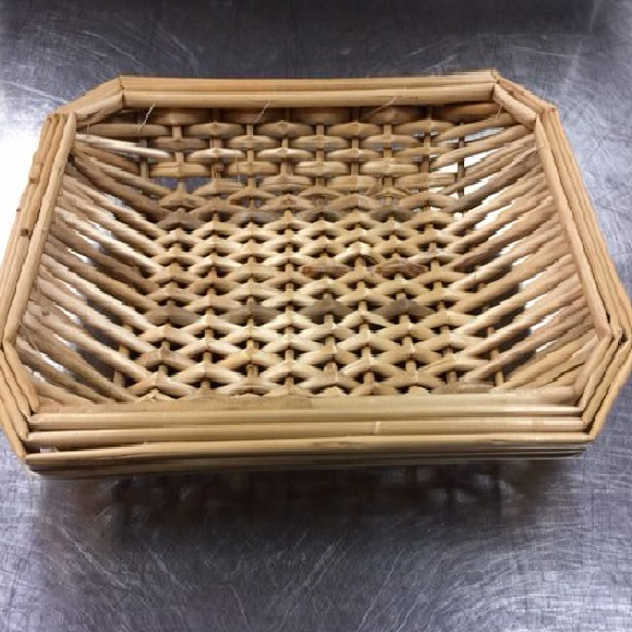 "wicker bread basket - 7"" x 11"""