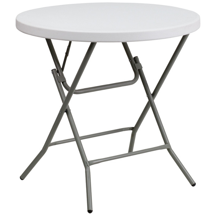 table – 32″ round table – 30″ high