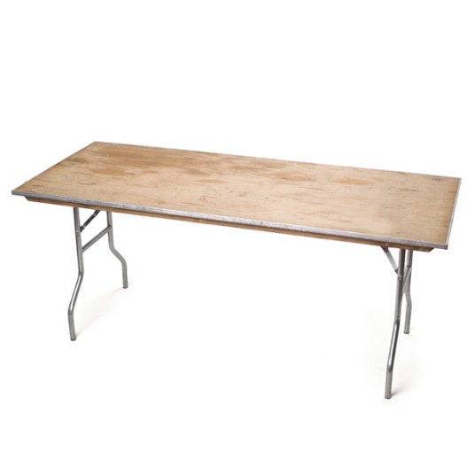 Table – 6' Rectangular folding