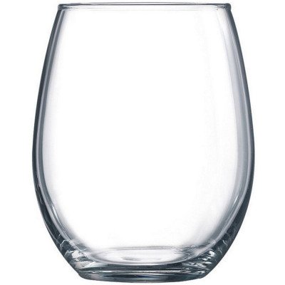 stemless water/wine glasses - by the dozen