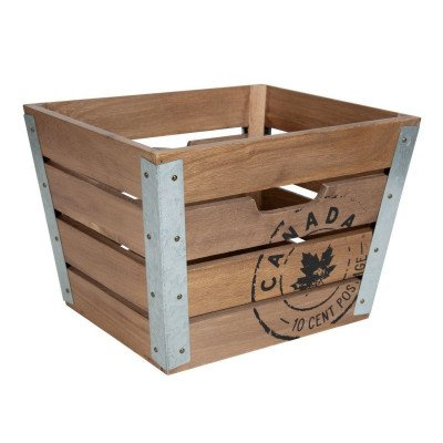 Decorative Wood Crate picture 1
