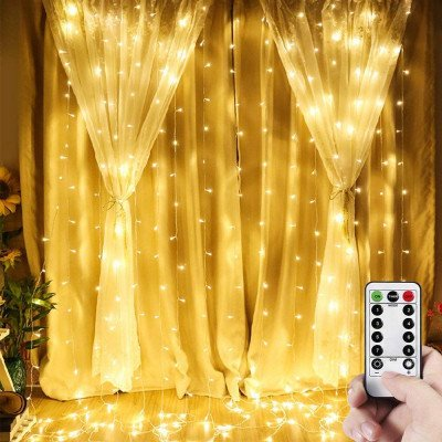 window curtain lights picture 1