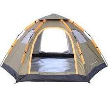 6 person easy pop tent (comfortably 4)