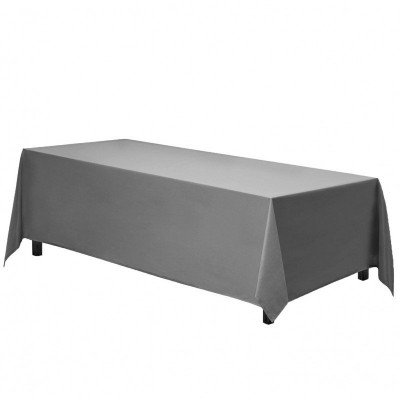 rectangle tablecloth - charcoal
