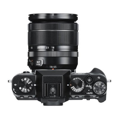 camera with 18-55mm lens-1