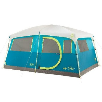 8 person fast pitch instant cabin camping tent