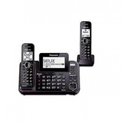 bluetooth enabled 2-line phone with answering machine-1