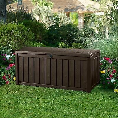 plastic deck storage container