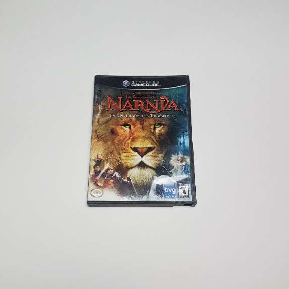 GameCube - the Chronicles of narnia game