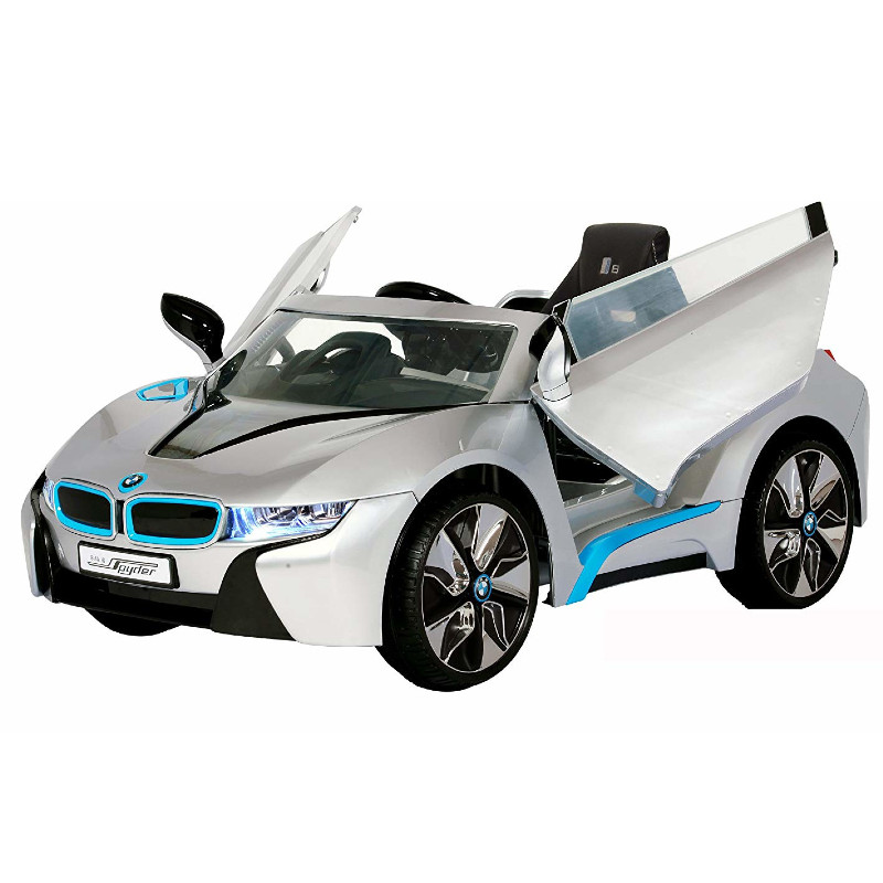 BMW i8 ride on, Silver w/RC
