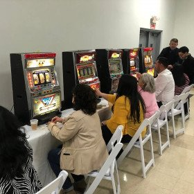 Slot Machines With Dealer/ Attendant