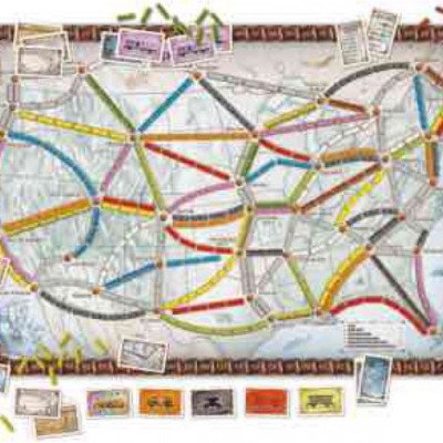 ticket to ride - board game-1