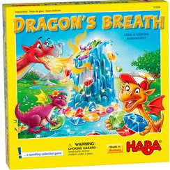dragon's breath - board game