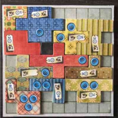 patchwork - board game-1
