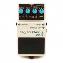 Boss - dd-3 delay pedal