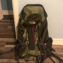 North Face - 30l backpack