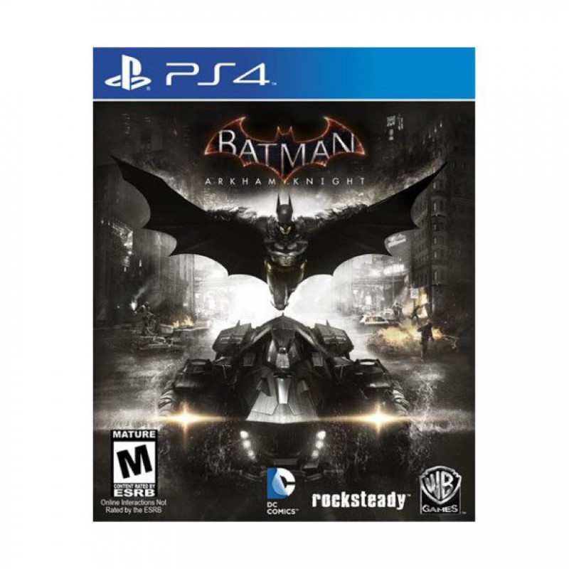 arkham knight. - ps4 video game