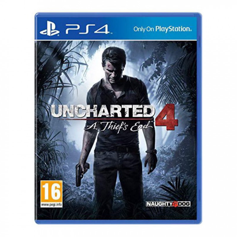 Uncharted 4 - ps4 video game