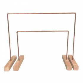 Set of Copper Pipe Hanging Stand