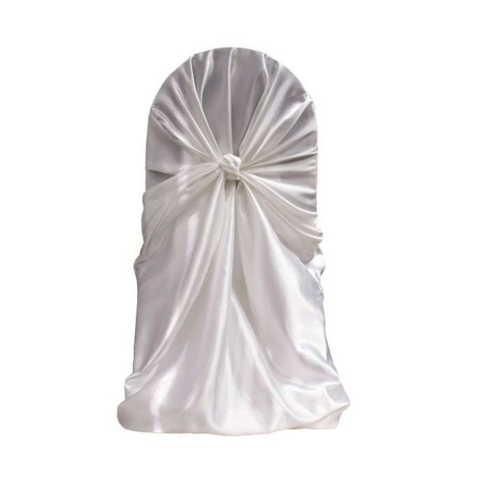 satin universal chair cover