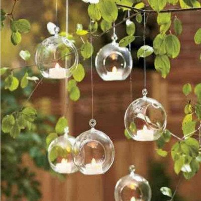 clear glass hanging bubble-1