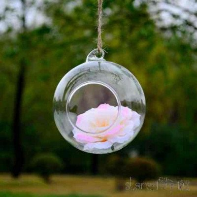clear glass hanging bubble-2