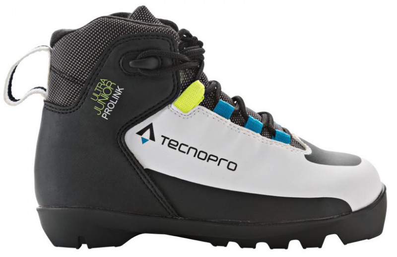 Junior xcountry ski boots- tecno pro ultra prolink
