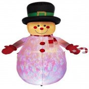 8-ft inflatable snowman