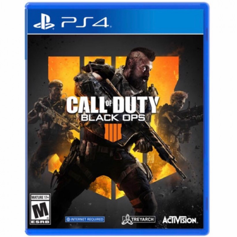 call of duty black ops 4 - ps4 game