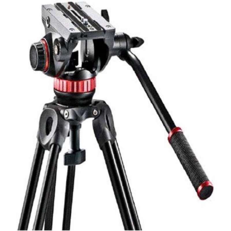 Video camera tripod- manfrotto 546b two stage pro