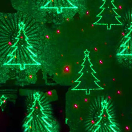 programmable laser decoration- mr. christmas-2