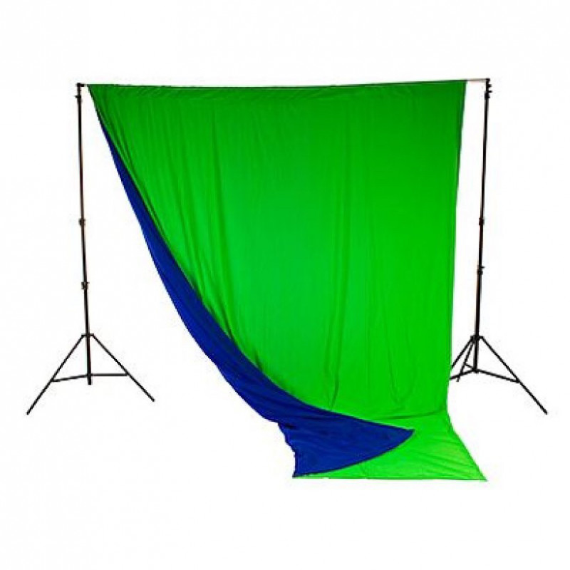 Photography chromakey Curtain & stand- lastolite