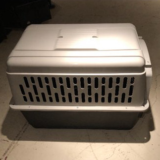 Pet taxi- large dog crate