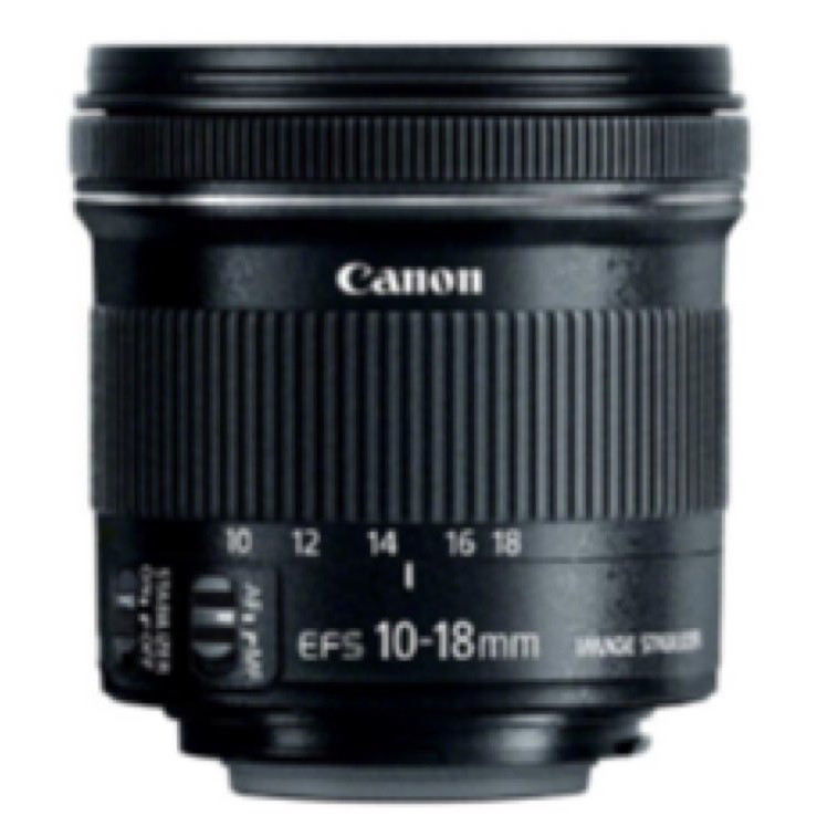 Canon- Ed-s 10-18mm 4.5-5.6 is stm lens