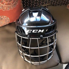 Junior hockey helmet & cage- ccm fitlite 40
