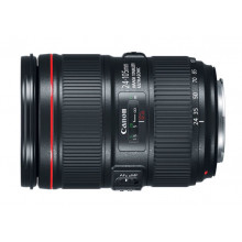 Canon- ef24 105 mm f- 4 is usm- camera lens