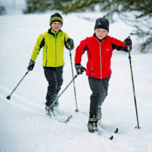 Junior xcountry ski package- tecno pro