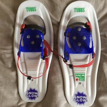 Junior snowshoes- tubbs snowglow