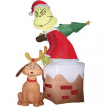 5.5-ft inflatable grinch decoration