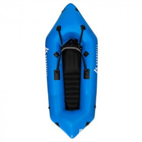 KOKOPELLI RECON Blue Inflatable Boat Sunset Package - Paddle for Single Paddler