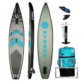 Day SUP Paddleboard Inflatable Day Package for Single Paddler - Hydrus Paradise Touring