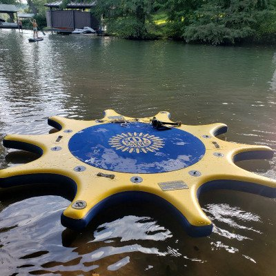 SUP Yoga Dock Relaxation Pad - SOL Namastation picture 2