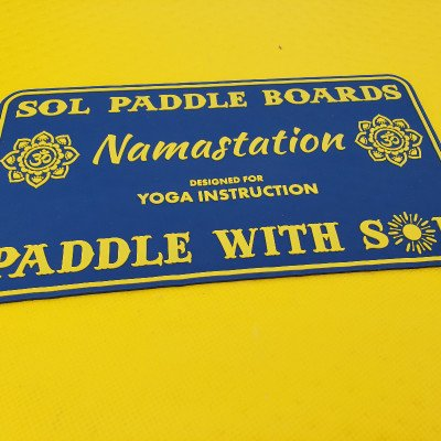 SUP Yoga Dock Relaxation Pad - SOL Namastation picture 4