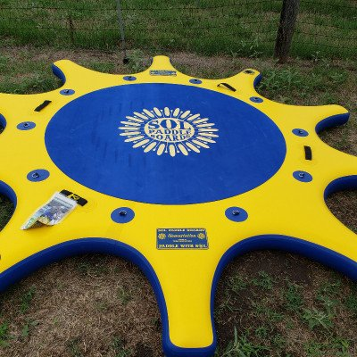 SUP Yoga Dock Relaxation Pad - SOL Namastation picture 6